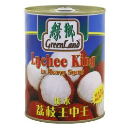 Greenland King Lychee in Syrup (12 x 565 Grams)